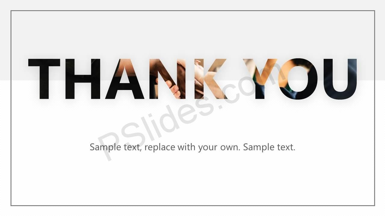 Creative Thank You Slide For Powerpoint Powerpoint Powerpoint Presentation Presentation