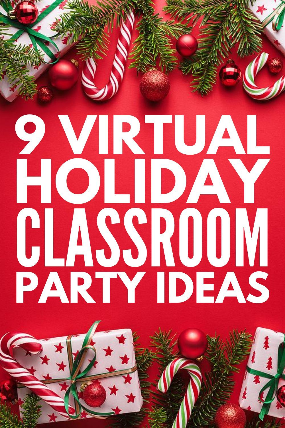 9 Easy And Fun Virtual Classroom Party Ideas Your Students Will Love In 2020 School Christmas Party Classroom Party Kids Christmas Party