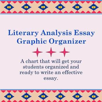 Great Graphic Organizer For A Literary Analysis Essay Free