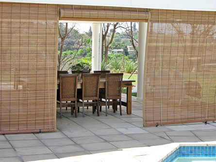 Bamboo Fence Design Outdoor Spaces