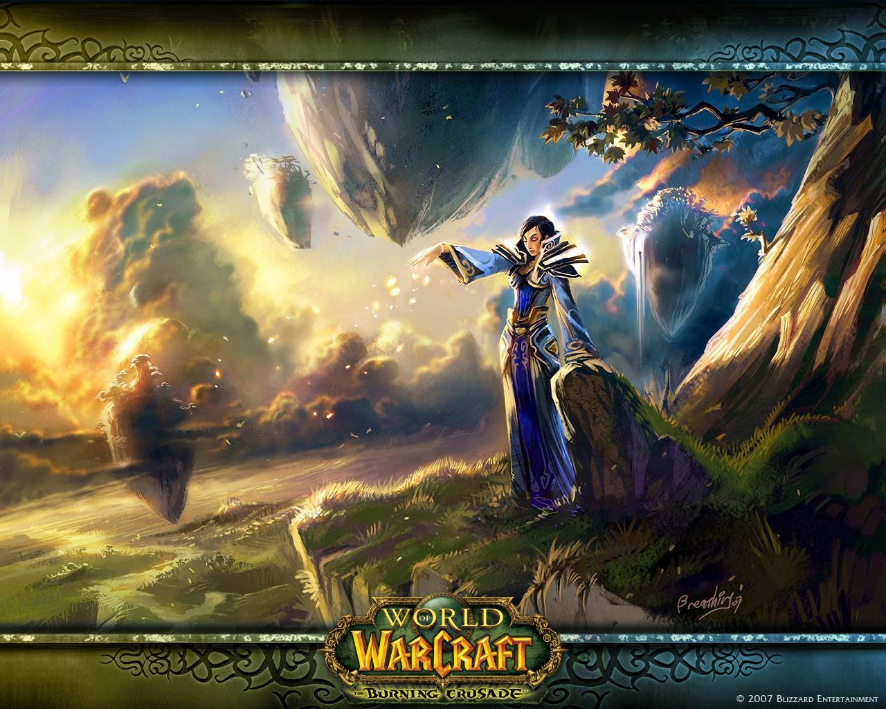 World of Warcraft. Nagrand, so beautiful