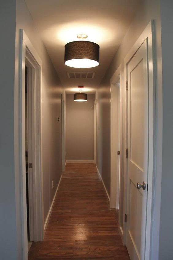 Ideas for lighting a small dark hallway & Ideas for lighting a small dark hallway | For Our Home | Pinterest ...
