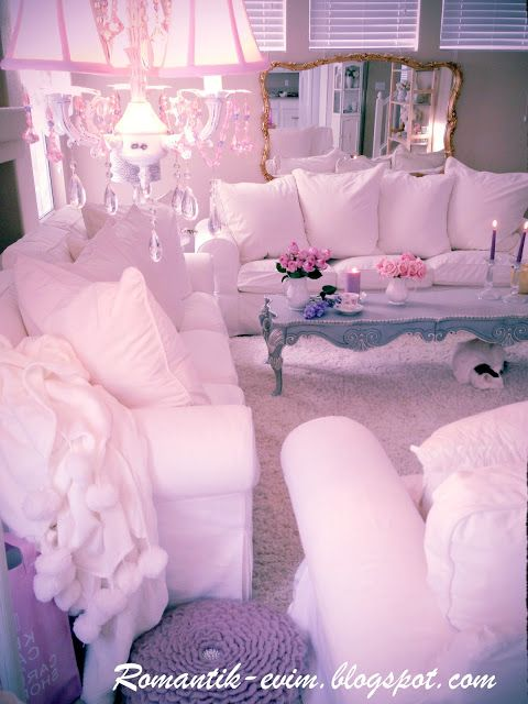 My Shabby Chic Home ~ Romantik Evim ~Romantik Ev | Shabby chic ...