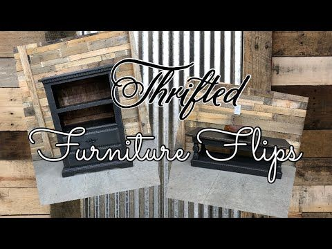 Photo of Thrift to Treasure Thrifted Furniture Flips to Resell for Farmhouse Decor