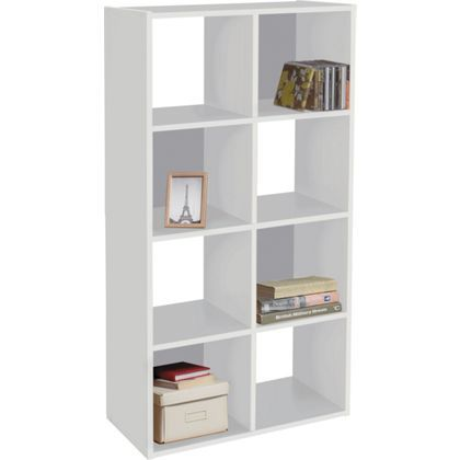 purchase cheap 35c97 5f2e7 White block cube bookshelf from Homebase | I could fill a ...