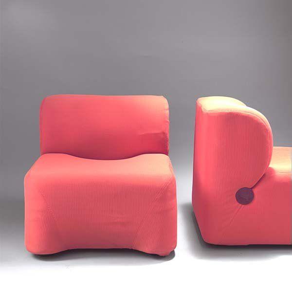 Carlo Bartoli Design.Carlo Bartoli Bubble Easy Chairs For Rossi Di Abizzate