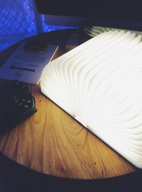 Shark Tank Book Light Alluring Gizmodo  Home Of The Future Book Lamp That Was On Shark Tank Inspiration