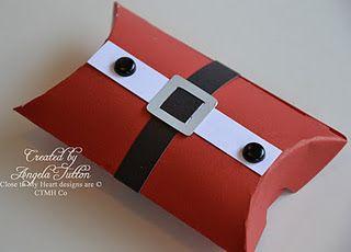 Cute gift box idea for Santa's Workshop 2012 using Art Philosophy Cartridge