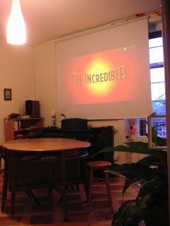 timtoms trio: #1 tupplur home cinema screen