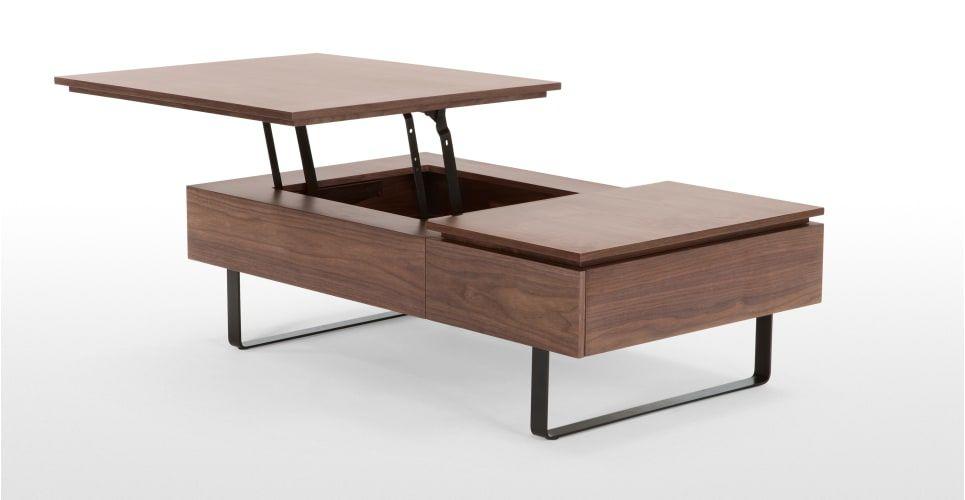 flippa couchtisch mit stauraum walnuss neues design f r dein zuhause entdecke jetzt tische von. Black Bedroom Furniture Sets. Home Design Ideas