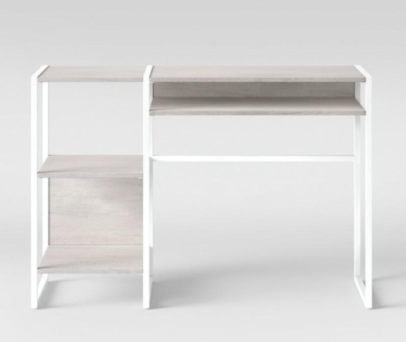 Paulo Open Desk Project 62 Furniture Console Desk White Writing Desk