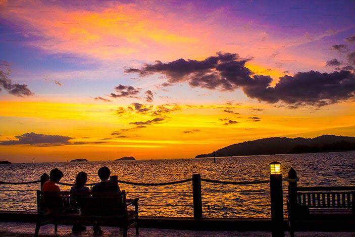 Kota Kinabalu Malaysia Sunset Wepixmedia Biz Affordable Web Designers Sunset Kota Kinabalu Travel Photography