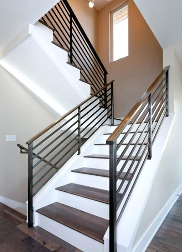 Best Metal Railings Interior Modern Stair Railing Contemporary 400 x 300
