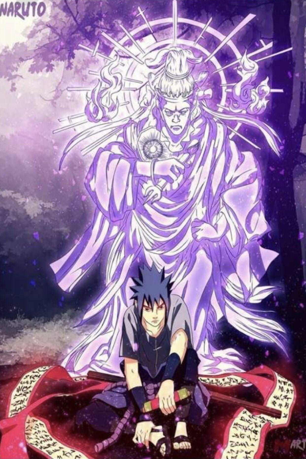 Pin de AnimeKing em Naruto Susanoo, Personagens de anime
