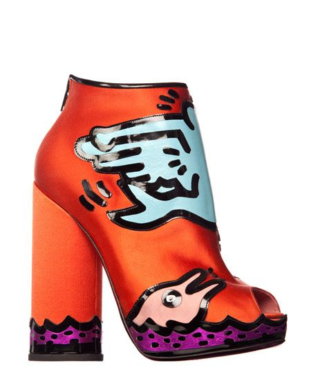 Nicholas Kirkwood - Keith Haring Collection Chaussures Originales f254e0a4aec6