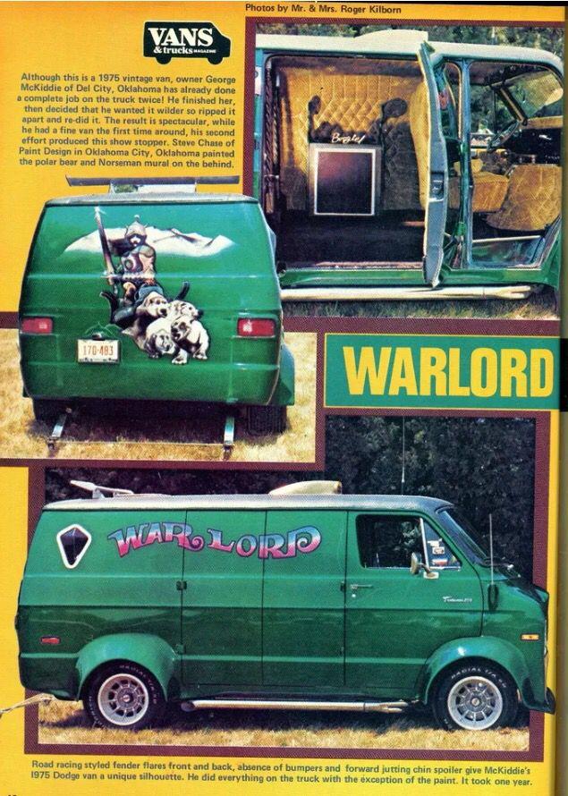 Warlord Custom 70 S Show Van