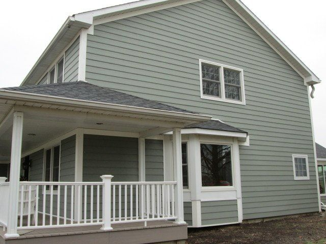 Recent Everlast Siding Project Remodeling Picture Post Contractor Talk House Exterior House Siding Siding