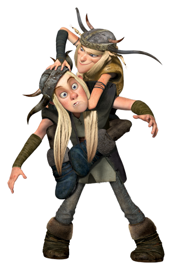 Need to know more about the wackiest siblings in How To Train Your Dragon, we have it right here...