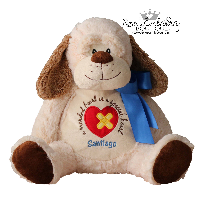 Chd heart warrior congenital heart defect stuffed animal