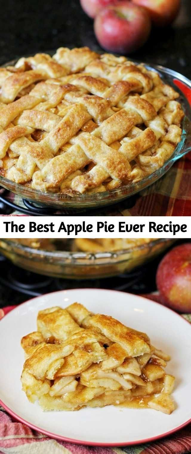 """Declaring a recipe as """"the best ever"""" is a bold statement. I don't take it lightly or use it often. I've made this pie over and over again, and each time the friends and family I share it with agree that it is the best apple pie. So, today I'm going to share how to make this holiday staple! #applepie"""