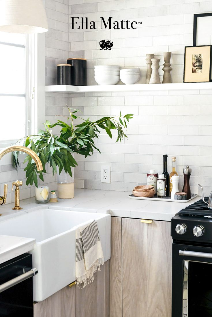 A beautiful and durable alternative to marble countertops, Ella ...