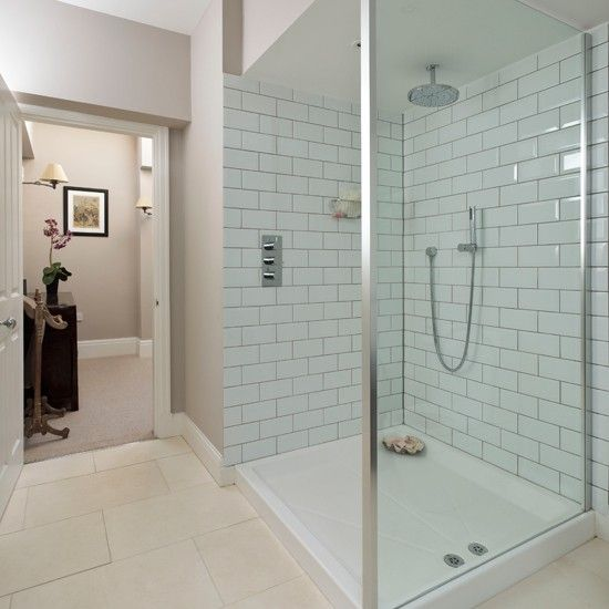 Wei dusche wohnideen badezimmer living ideas bathroom for Badezimmer wohnideen