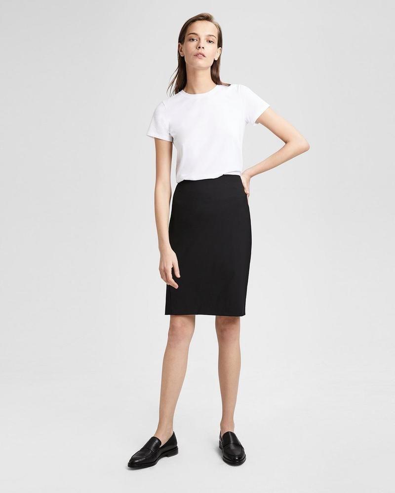7c76c6b284 Theory Joanie Sevona Black Virgin Wool Stretch Career Work Pencil Skirt SZ  6 #fashion #clothing #shoes #accessories #womensclothing #skirts (ebay link)