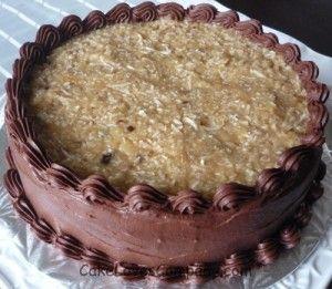 Vegan german chocolate cake recipes