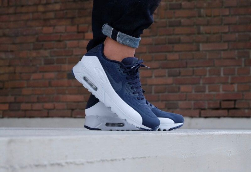 best loved 1232e 02ba9 Nike Air Max 90 Ultra Moire Obsidian  Obsidian- Pure Platinum - 819477-404