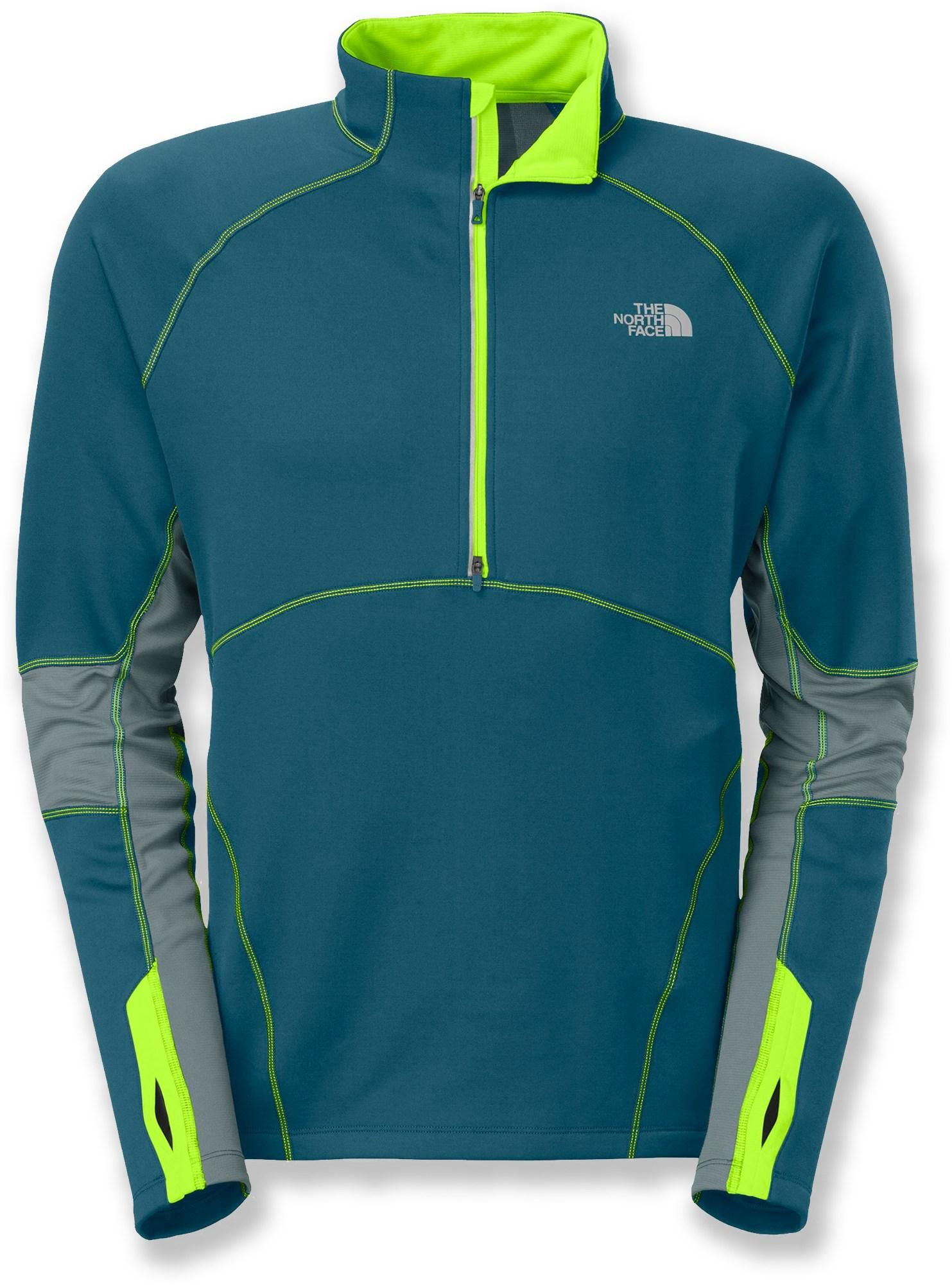 91cd80012 The Momentum Thermal half-zip top from The North Face delivers ...