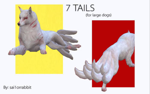 Ts4 7 Tails For Large Dogs Maxis Match Disabled Sims 4 Pets
