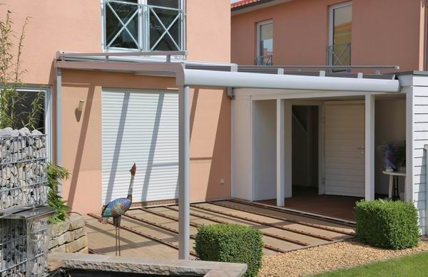 Verschiebbares Terrassendach - unser Glasschiebedach von Vitello - garten terrasse uberdachen