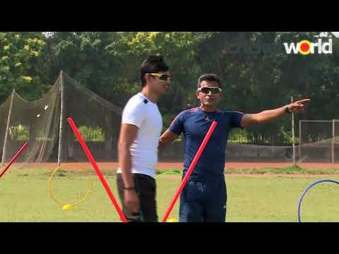 Fast Bowling Hurdle Drills With Chinmoy Roy Cricket World More Info On Https 1 W W Com Bowling Fast Bowling Hurdle Drills With Chinmoy Roy Cricket World