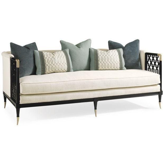Caracole Lattice Entertain You Sofa | Sofas Loveseats & Settees | Caracole | Brands | Candelabra, Inc.