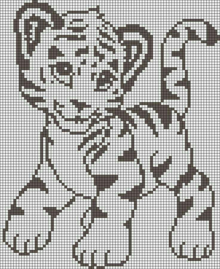 багет, черно-белые картинки для вязания николов продюсер х-фактора
