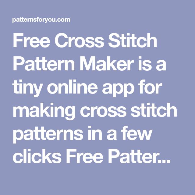 Bead Loom Pattern Maker Online