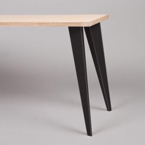 Petite Production Petites Production Pair Table Legs   Black