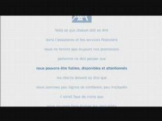 AXA Réinventons notre métier - Upside down advertising
