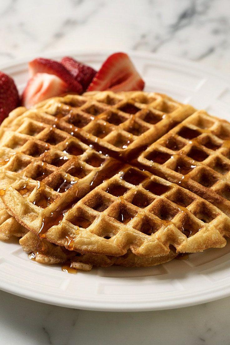Buttermilk Brown Sugar Waffles Recipe Recipe Waffle Recipes Recipes Waffles