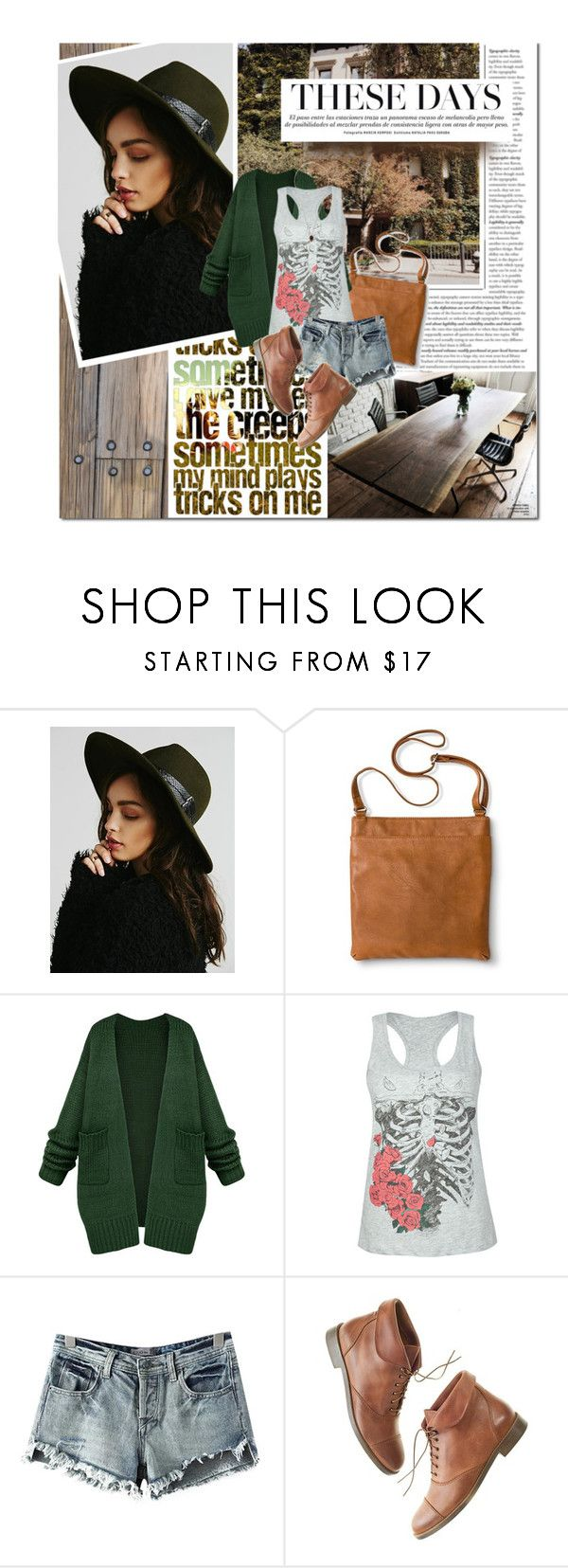 """these days"" by lifestyle-ala-grace ❤ liked on Polyvore featuring Free People, Merona, Full Tilt, Chicnova Fashion, Madewell, BY SOPHIE, tanktop, edgy, cardigan and ankleboots"