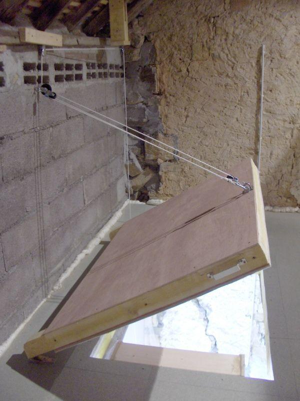 Afbeeldingsresultaat voor zolderluik met vaste trap for Trapgat maken