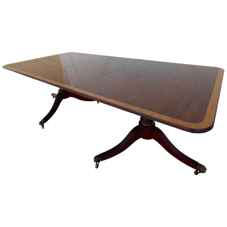 English George Iii Mahogany Banquet Dining Table Early 19th