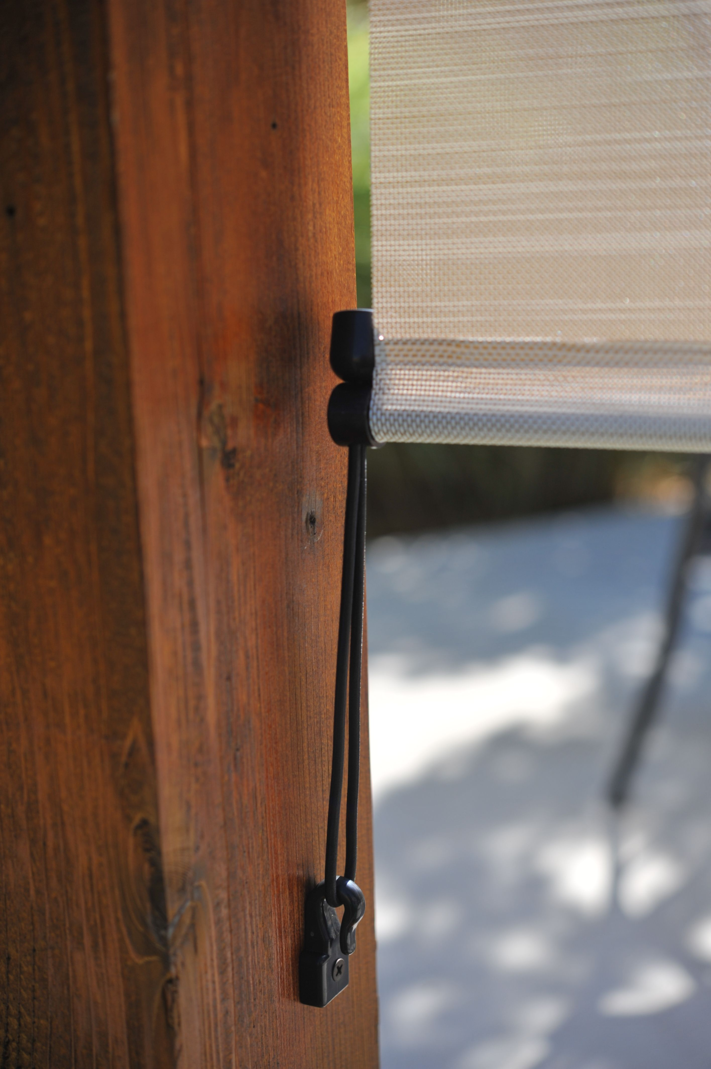 Exterior Shade Tie Downs Eliminate The Shade From Swaying