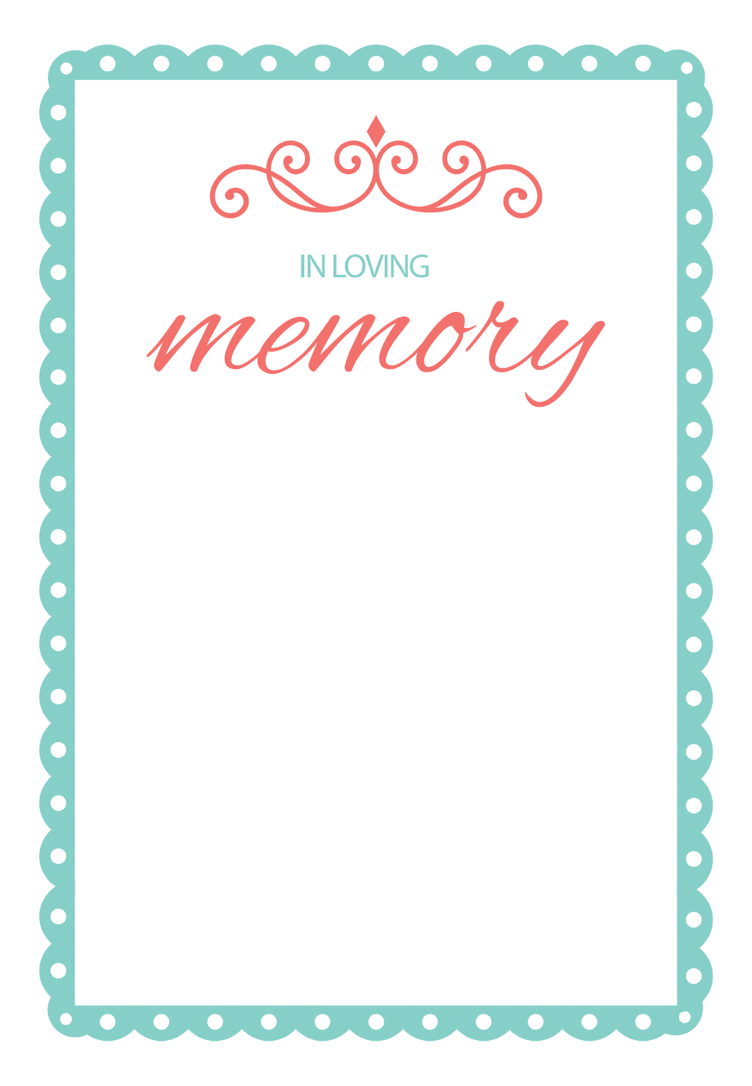 In Loving Memory Memorial Card Template Free Greetings Island Card Templates Free Memorial Cards Card Template