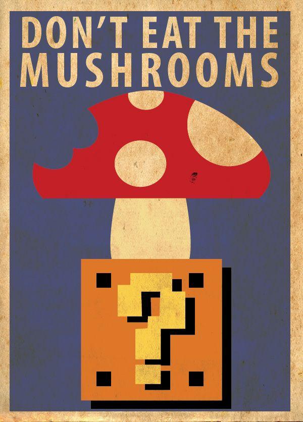 Mario Poster By Procastinating Nintendo Mushroom Poster Mario Art Retro Poster Mario
