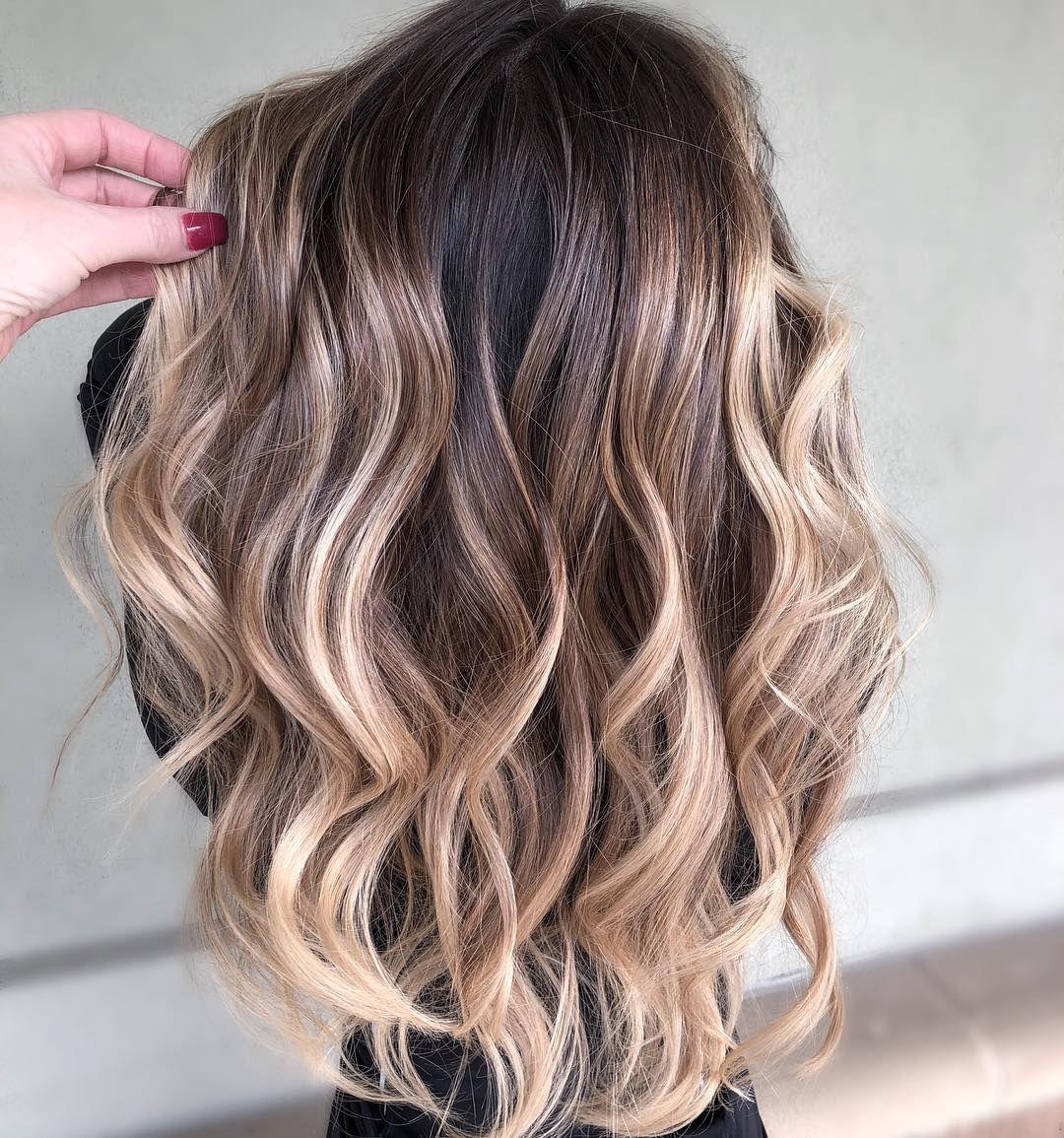 35+ Low maintenance highlights for dark hair inspirations