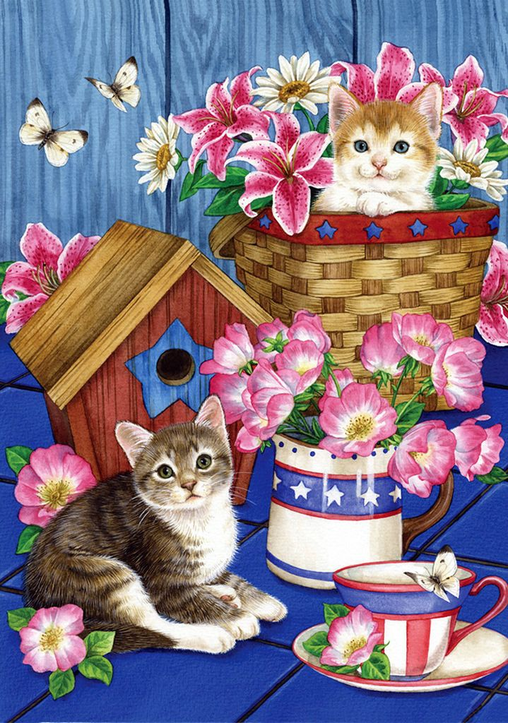 Jane Maday. Кошки.