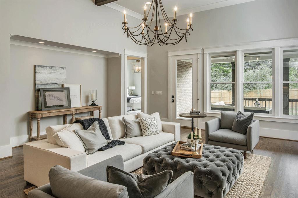 Repose Gray Review By Laura Rugh Rugh Design Living Room Decor Gray Monochromatic Living Room Living Room Grey