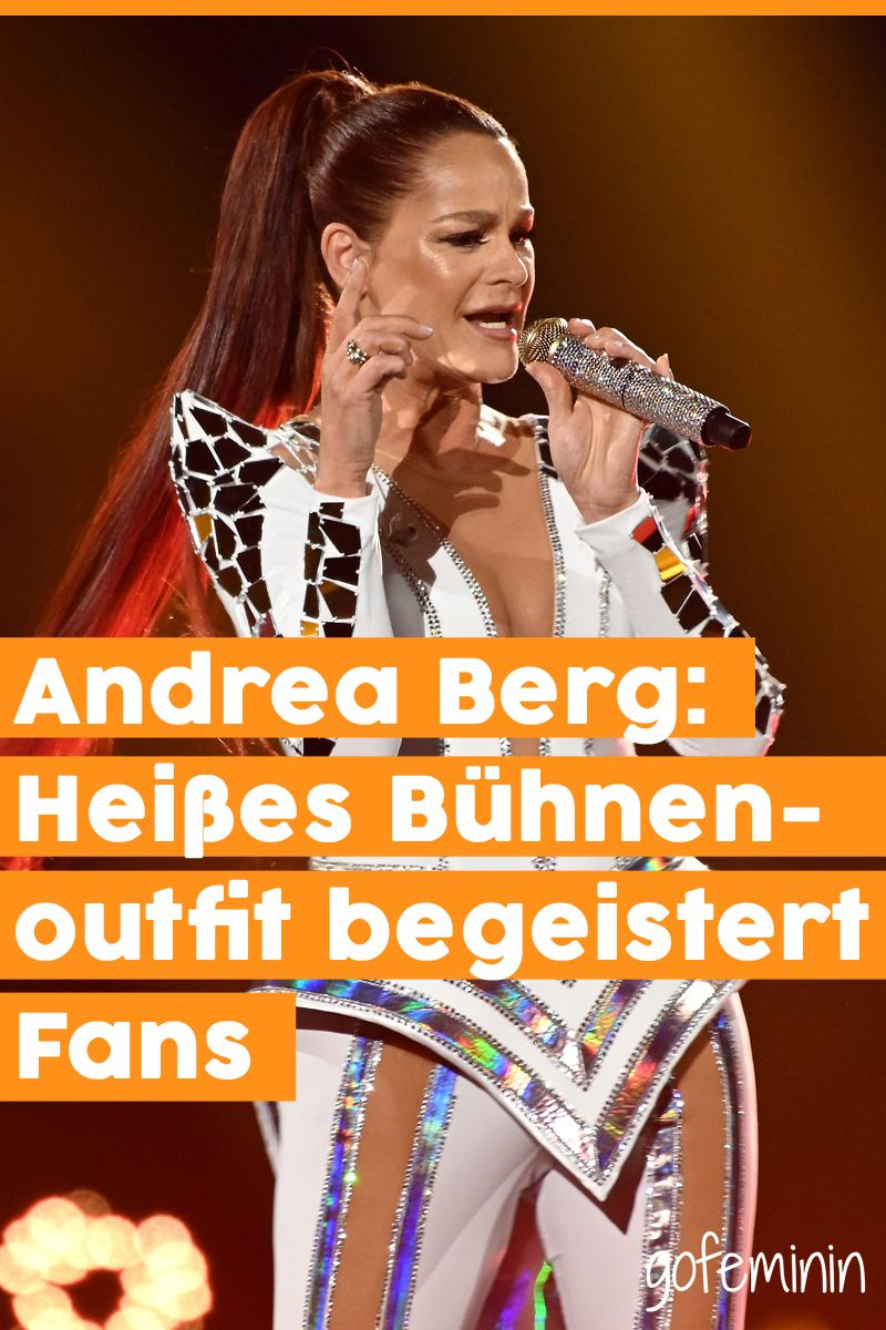 Andrea Berg Heisses Buhnenoutfit Begeistert Fans Andrea Berg Gesundheit Andreas