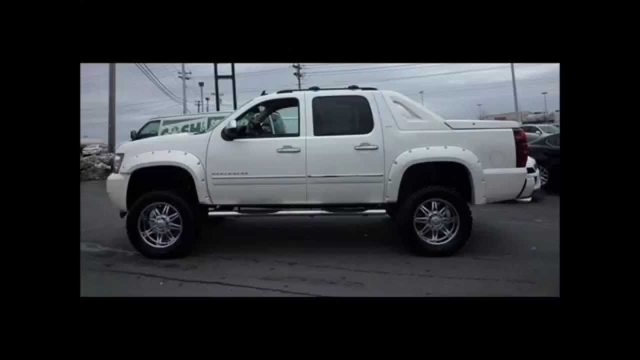 2012 Lifted Chevy Avalanche Ltz Southern Comfort Conversion With
